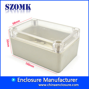 China 100*68*50mm ip65 waterproof enclosure AK-B-FT4 factory