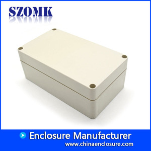 China 156X88X60mm waterproof pcb plastic electrical distribution case AK-B-2B factory