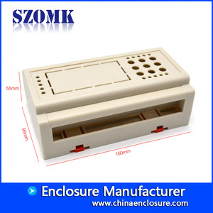 China 160*95*55mm plc enclousre AK-DR-36 factory