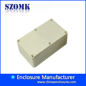 China 162*94*66mm Instrument enclosure for pcb switch outlet ABS Plastic Junction Box IP68 Waterproof/AK10513 factory
