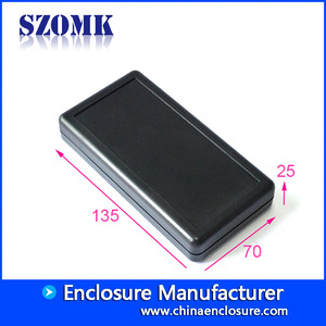China 2 x AA battery hot selling electronic plastic enclosure plastic handheld electronic junction enclosure factory