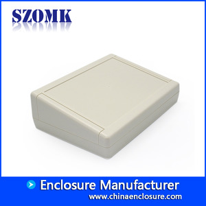 China OEM ABS Plastic Desktop Enclosure from China factory manufacturer AK-D-13 200x145x63mm factory