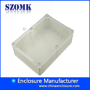 China 204*143*75mm IP68 plastic waterproof enclosure electronic circuit board housing case/AK10508 factory