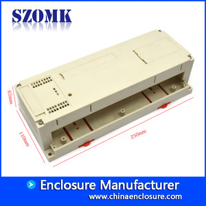 China 250*110*65mm din rail pcb mount AK-P-22 factory