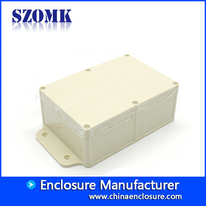 China SZOMK high quality Waterproof IP68 Custom Plastic Enclosure for Electronic AK10018-A1 275*151*83mm factory