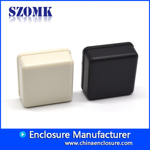 China White/Black color abs custom  plastic electrical AK-S-107 36*36*15mm factory