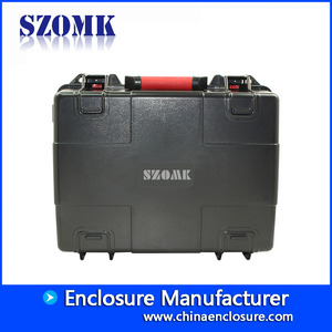 China 434x136x168mm High impact hard protective hand plastic toolbox/AK-18-07 factory