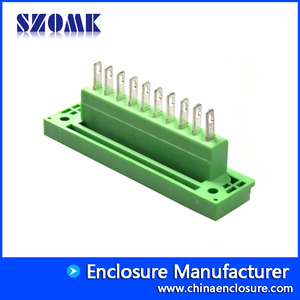 China 5.08mm pitch female pluggable terminal block 2COMVM-5.08 factory