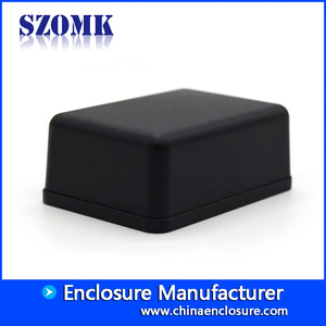 China 51x36x20mm Black ABS Plastic Standard Enclosure from SZOMK/AK-S-75 factory