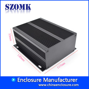 China 53*117*130mm szomk aluminum amplifier box AK-C-A37 factory