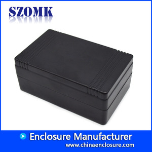 China 79*49*32mm szomk hot sales black plastic electronics enclosure AK-S-115 factory