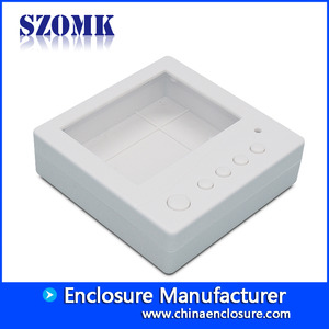 China 85x85x25mm Smart ABS Plastic Junction Enclosure from SZOMK/AK-N-14 factory