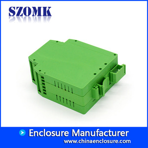 China 95*41*25mm hot selling abs  din rail project box AK-DR-32 factory
