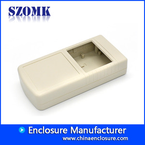 China A lot szomk plastic wall mouting control abs enclosure plastic connector box junction box project case AK-W-33 factory