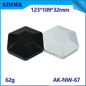 China ABS infrared wireless router AP smart gateway home controller enclosure AK-NW-67 factory