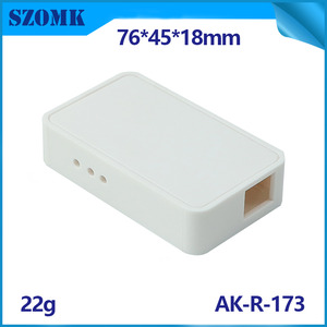 China ABS Smart Controller Wireless Gateway Wifi Sender Kunststoffgehäuse AK-R-173-Fabrik