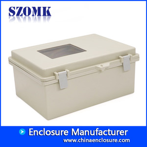 中国pole mount junction box with waterproof electrical cabinet 290X190X140mm project box supply/AK-B-F52C工場