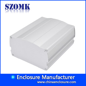 China Amplifier anodizing aluminum enclosure extrusion box /AK-C-C74 factory