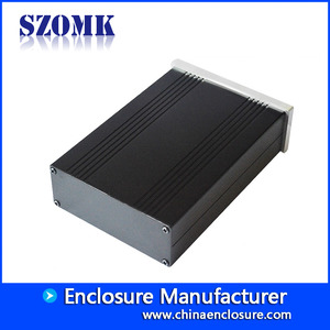 China Best heatsink Electronic Amplifier  Extruded Aluminum  Enclosures AK-C-C69 150 * 105 * 40mm factory