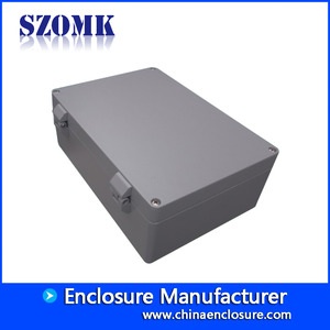 China China electrical die cast aluminum instrument enclosure metal junction box size 330*230*120mm factory