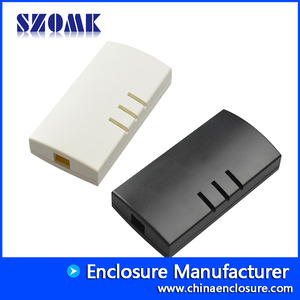 China China factory abs plastic box USB enclosure szomk housing case for electronics AK-N-07 109x56x24mm factory