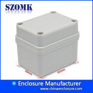 China China high quality abs IP66 65X50X55mm pcb plastic waterproof junction box supply/AK-AG-02 factory
