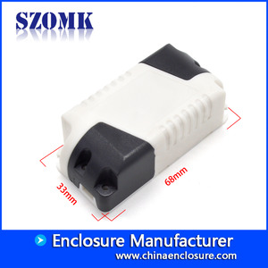 China China hot sale outlet led power 68*33*22mm AK-48 abs plastic junction box supplier factory