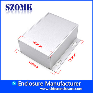 الصين مصنع China hot sale wall mounting 130X128X52mm 6030 aluminum junction enclosure manufacture/AK-C-A44