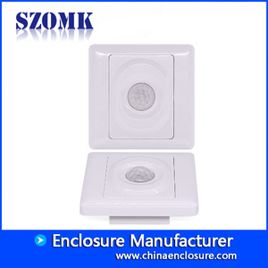 中国China new design abs plastic 86X86X28mm access control induction enclosrue supply/AK-R-162工場