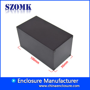 Chine China new product 56X56X100 mm normal aluminum junction enclosure manufacture/AK-C-B87 usine