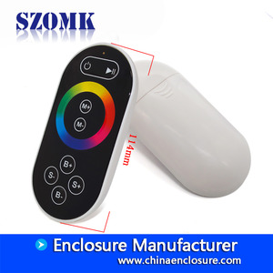 China Colorful Wall Mounted RGB Controller Plastic Electronic Enclosure/114*55*25mm/AK-H-72 factory