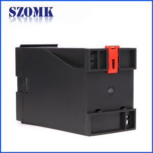 中国Enclosures of the protect relay with UL Certificate Shenzhen new design high quality din rail industrial 120X75X55mm of AK-DR-62工厂