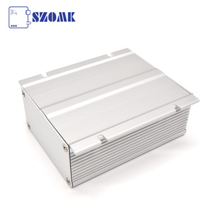 China Extruded Anodized Enclosure Wall-mounted Electronic Box Aluminium With Heat Sink factory