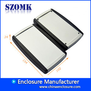 China Grey color abs handheld plastic enclosure electronics pcb box/AK-H-58 factory
