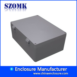 China Guangdong factory die  cast aluminum metal electronic junction box size 390*280*158 factory