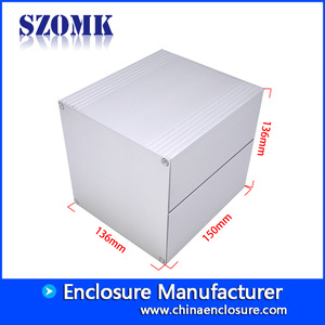 China Guangdong high quality 150X136X136 mm normal aluminum junction enclosure manufacture/AK-C-B89 factory
