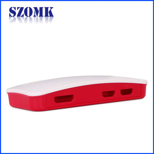 China SZOMK Raspberry pi stainless steel electrical box injection tooling supplier AK-N-70 80 * 37 * 14mm factory