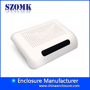 China High Quality ABS Plastic Network Router Enclosure from SZOMK/ AK-NW-39/ 210*140*42mm factory