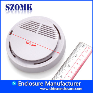 China High quality 107X34mm abs plastic  smoke detector voice operated project enclosure manufacture/AK-N-54 factory