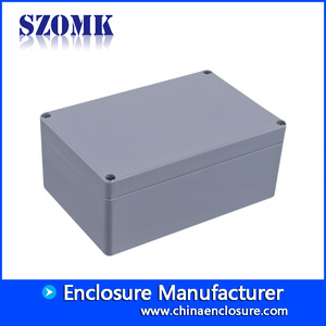 China High quality 240X160X100mm die extruded IP66 waterproof aluminum enclosure supply/AK-AW-16 factory