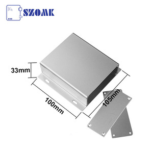China High quality IP54 wall mounted aluminum junction box for PCB AK-C-A20 33*105*100mm factory