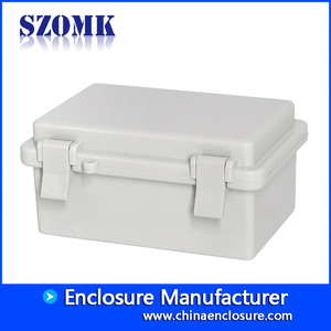China Hinge cover waterproof box sealed box IP65 plastic eletronics enclosure AK-01-29 150 * 100 * 72 mm factory