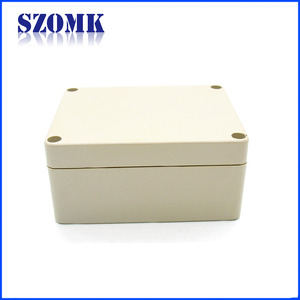 China SZOMK IP65 ABS Plastic enclosure customized waterproof junction box electronic case housing for PCB board AK-B-3 115*90*55mm factory