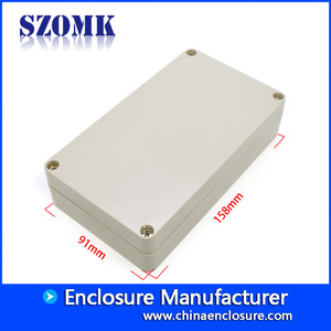 China szomk high quality strong enough IP65 waterproof for Electronic Instrument Housing Case Box AK-B-8 158*91*40mm factory