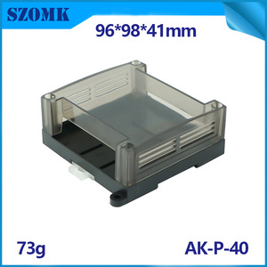 China Injectie Mold DIN Rail behuizing Instrument Case AK-P-40 fabriek
