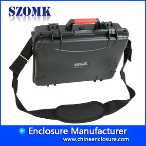 China Multipurpose plastic tool case with ABS mterial AK-18-03  355*272*106 mm manufacturer factory
