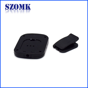 New Design Clip Type Plastic Enclosure Shell Electric Standard PCB Connector Project Box/75*59*12mm/AK-N-33