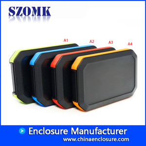 China New product IP65 plastic waterproof handheld enclosure for electronics AK-H-77 126*80*20mm factory