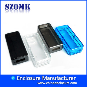 China enclosure usb rj45 abs plastic electronics szomk design AK-N-12 53x24x14mm factory