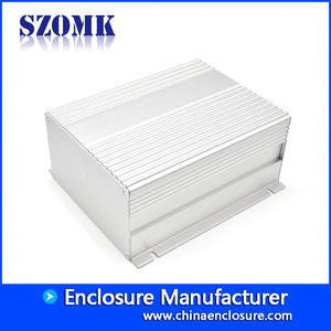 Кита Extruded aluminum enclosure wall mounted control switch pcb box enclosure electronic equipment AK-S-A36 завод
